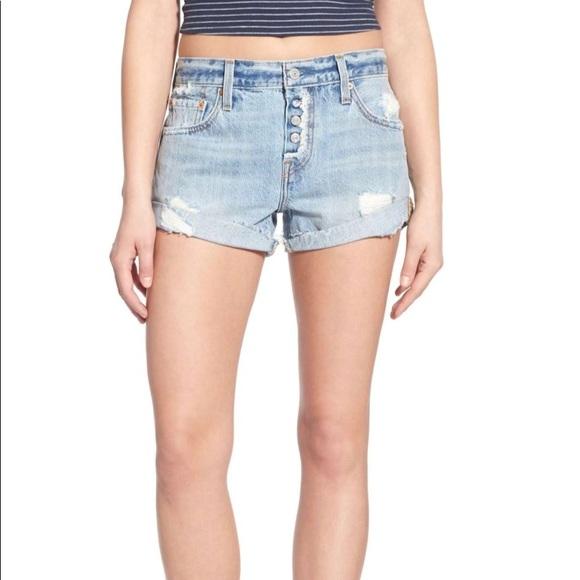 e32173e8 Levi's Shorts | Levis 501 Customized Distressed Denim | Poshmark